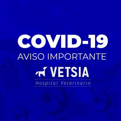 Comunicado importante: COVID-19